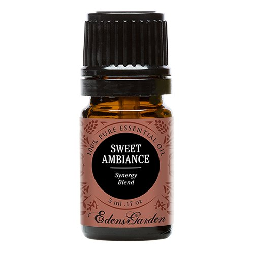 Sweet Ambiance Synergy Blend Essential Oil by Edens Garden (Lemon, Lime, Orange, Peru Balsam and Ylang Ylang)- 5 ml