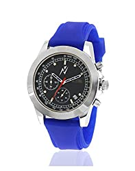 Yepme Mens Chronograph Watch - Black/Blue_YPMWATCH1747