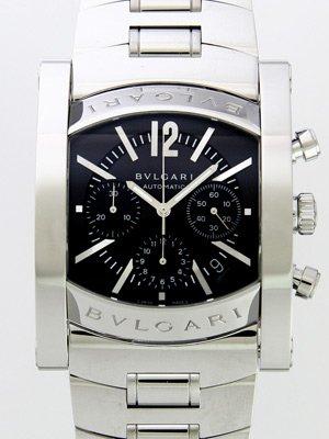 【クリックで詳細表示】ブルガリ BVLGARI アショーマ クロノグラフ AA48C14SSDCH ダークブルー [並行輸入品]: 腕時計通販