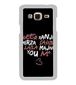 Heart 2D Hard Polycarbonate Designer Back Case Cover for Samsung Galaxy J3 2016 :: Samsung Galaxy J3 2016 Duos :: Samsung Galaxy J3 2016 J320F J320A J320P J3109 J320M J320Y