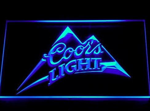 coors-light-bier-led-zeichen-werbung-neonschild-blau