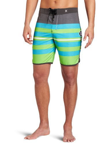 Hurley - Mens Bp Warp Phantom Boardshorts, Size: 36, Color: Neon Green
