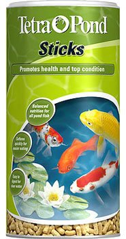 tetra-pond-sticks-1l-100g-complete-staple-food-for-all-pond-fish-brand-new