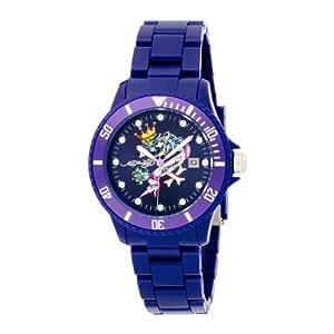 .com: Ed Hardy Unisex VP-DB VIP Dark Blue Watch: Ed Hardy: Watches