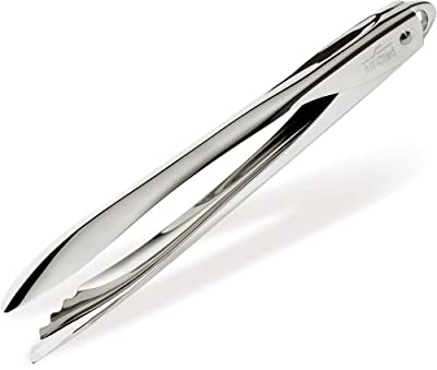 All-Clad T190GT Stainless Steel Cooking Tongs, 12-Inch, Silver