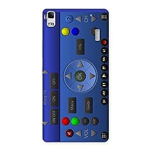 Super Remote Multicolor Back Case Cover for Lenovo K3 Note
