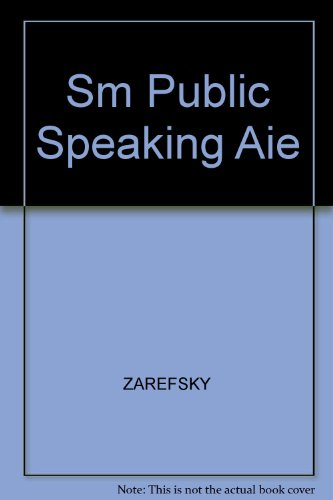 Sm Public Speaking Aie