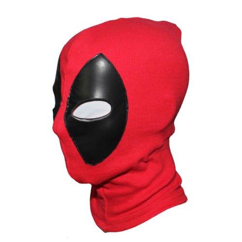 [New Deadpool Cosplay Mask Balaclava X-Men Costume Halloween Hood Leather] (Jack Torrance Costume)