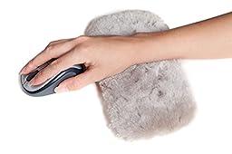 Sheepskin Wrist Rest Pad - Tan