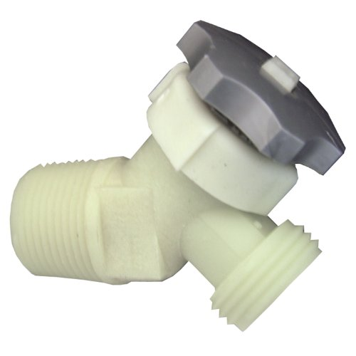 Lasco 40 0911 plastic water heater drain valve with 5 8 for Plastic water heater