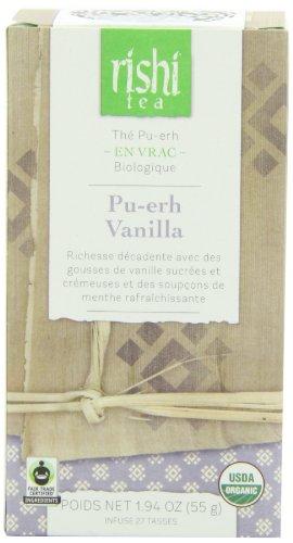 Rishi Tea Pu-Erh Vanilla, 55 Gram