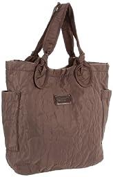 Marc by Marc Jacobs Core Pretty Medium Tate Shoulder Bag,Quartz Grey,One Size