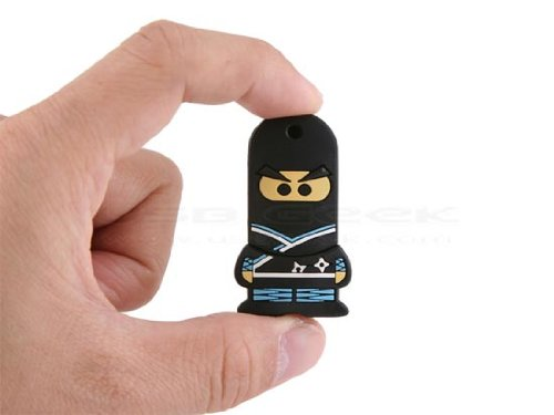 HDE (TM) 4GB Ninja USB Flash Drive