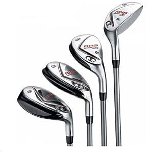 Amazon com top flite men s rh hybrid golf club set golf club