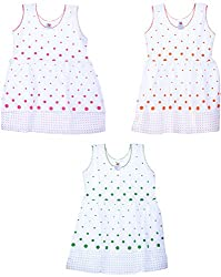 Amy Girls' Dress (S31_A_4-5 Years, 4-5 Years) - Special Offer with Free Shipping - 100% Cotton Exclusive Kidswear