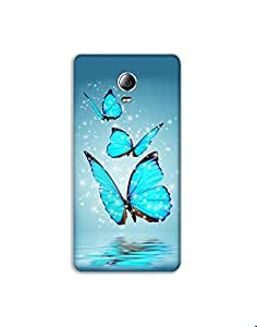 Lenovo P1 ht003 (104) Mobile Case from Mott2 - Beautiful Blue Butterfly (Limited Time Offers,Please Check the Details Below)