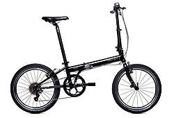 Dahon Speed P8 Folding Bike, Obsidian by Dahon