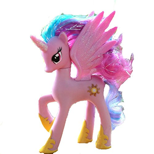 14cm New Horse Action Figure Doll Limited Edition Toys cute Collcetion Kids Best Gifts