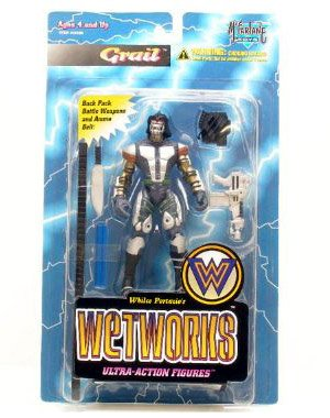 Buy Low Price McFarlane Wetworks Grail Action Figure (B001629QX8)