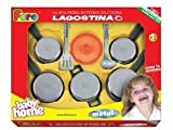 Pretend Play Toy Kitchen Products: Lagostina Toy Cooking Set Made in Italy By Faro