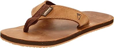 Amazon.com: Reef Men's Leather Smoothy Sandal: Shoes