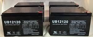 C RBC6 Replacement Batteries 12V 12ah SLA RBC 6 - 4 Pack