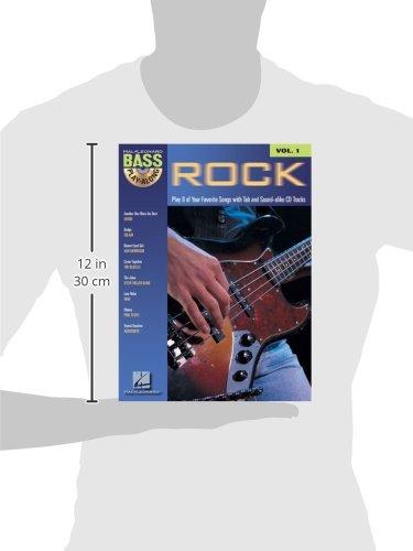 Rock Bass Play-along: 1 (Hal Leonard Bass Play-Along)