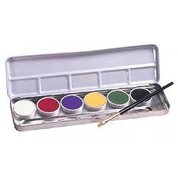 Clown Series Makeup Primary Palettes Lkp 1 (6 Colors)