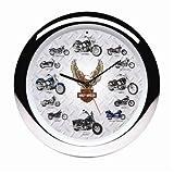 Harley-Davidson® Motorcycles Sound Clock