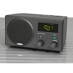 Boston Acoustics Recepter Radio in Charcoal
