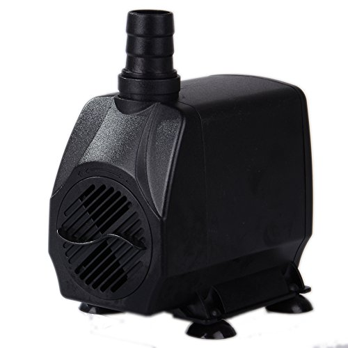 Uniclife ul1000 submersible pump 1000 gph pool garden for Hydroponic submersible pump