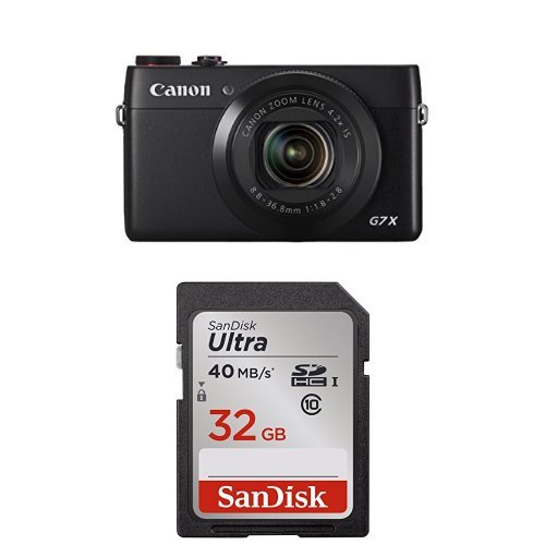 Sale!! Canon PowerShot G7 X Digital Camera + 32GB Memory Card