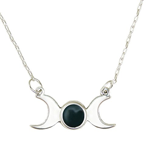 Nice Triple Goddess Symbol with Bloodstone on a 16