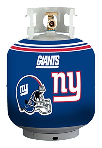 NFL New York Giants Propane Tank Cover/5 Gal. Water Cooler Cover, Blue (Giants Grill Cover compare prices)