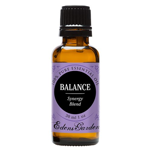 Balance Synergy Blend Essential Oil by Edens Garden (Geranium, Lavender and East Indian Sandalwood)- 30 ml