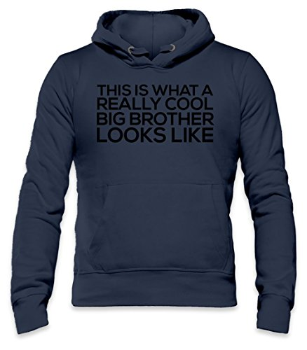 Really Cool Big Brother Funny Slogan Mens Hoodie X-Large