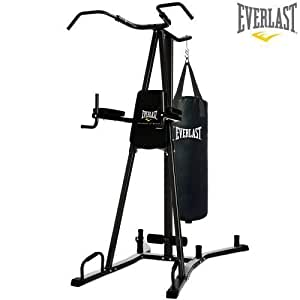 Everlast 4816B Pull amp Dip Station Home Gym Punch Bag