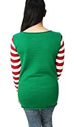 "Ugly Christmas Sweater Funny Women's Dog ""Pug Life"" Sweatshirt from Ugly Christmas Sweater"
