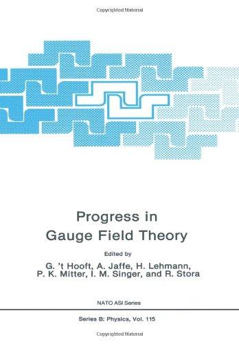 Progress in Gauge Field Theory (Nato Science Series B:)