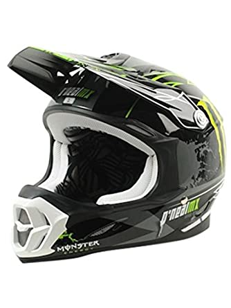 O'neal 712 Monster Motocross Enduro MTB Helm schwarz/grün 2014 Oneal: Größe: XS (53/54 cm)