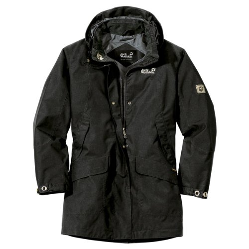 Jack Wolfskin QUEENS COAT WOMEN black