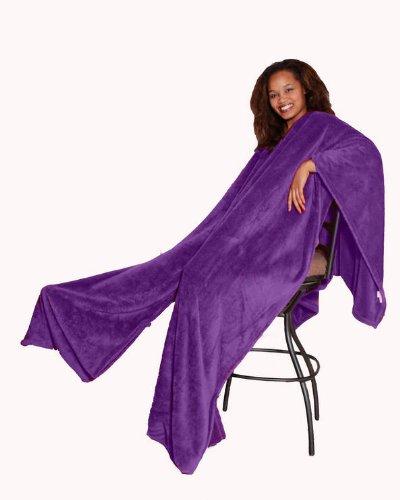 Purple Plush Blanket front-993870