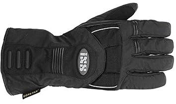 Gants de moto IXS Tristan Gore-Tex imperméable Gant de moto Noir J & S