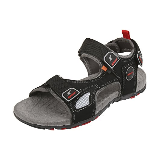 Sparx-Mens-SS0604-Series-Black-Red-Synthetic-Casual-Sandal