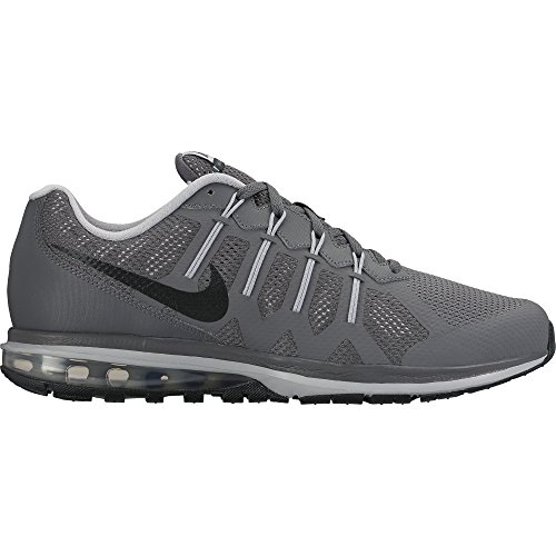 Nike Mens Air Max Dynasty Running Shoe Dark Grey/Black-Wolf Grey 11 (Nike Air Shoes Men compare prices)