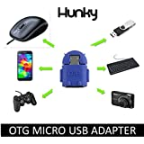 Huawei Ascend Y511 Compatible On The Go OTG Adapter ( Blue ) With 1 Year Warranty