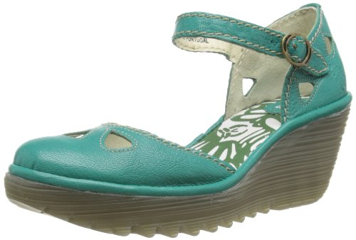 Fly London Womens Yuna Fashion Sandals P500016084 Peacock 5 UK, 38 EU