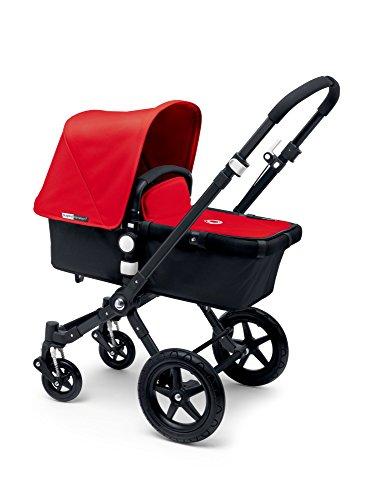 Bugaboo Cameleon3 Complete Stroller - Red - Black