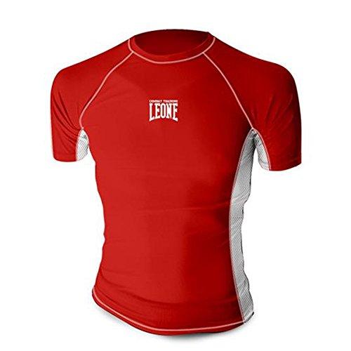 T-shirt Tecnica Rashguard MMA Leone AB781 Rosso (M)