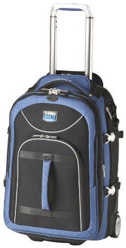 Travelpro Luggage T-Pro Bold 22 Inch Expandable Rollaboard Bag, Black/Blue, One Size top deals